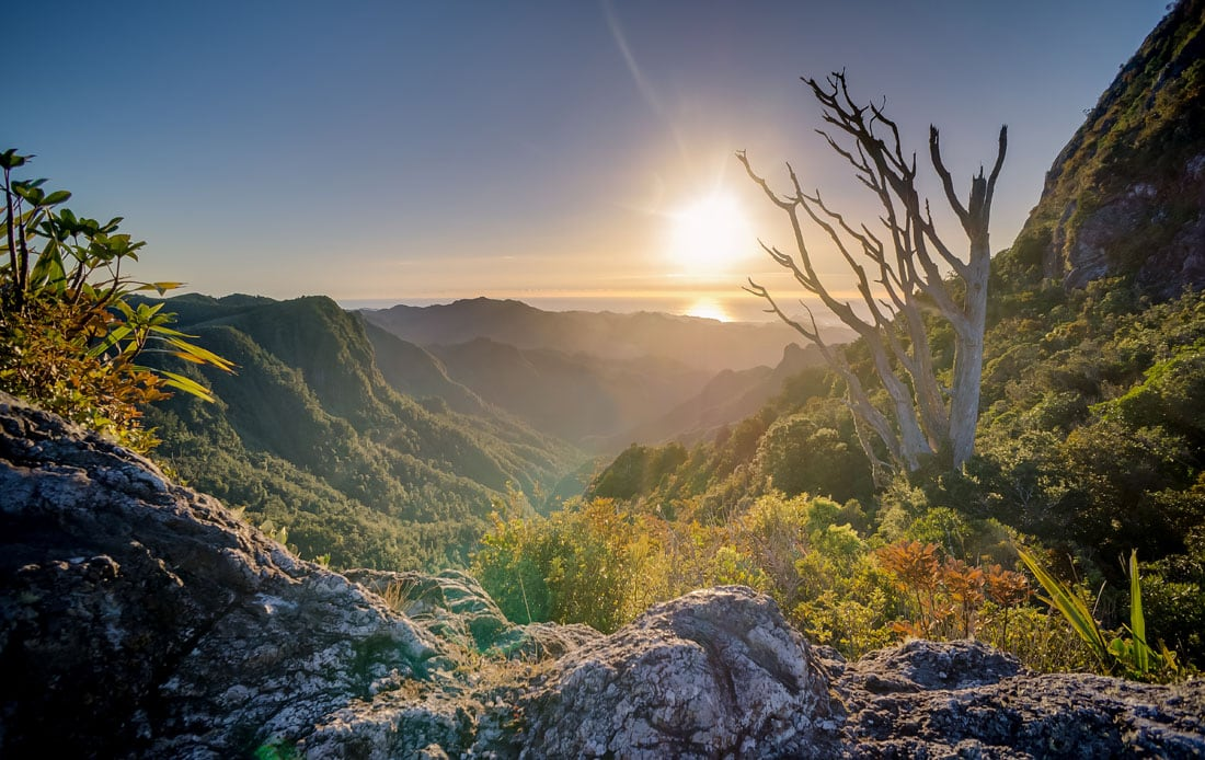 couché soleil grand canyon