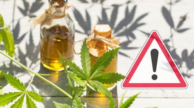 Les dangers du CBD, les effets secondaires possibles